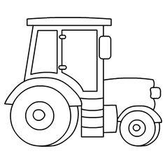 Výsledok vyhľadávania obrázkov pre dopyt traktor omalovanka