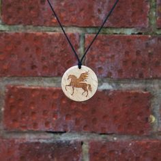 Pegasus-Horse with Wings-Greek Mythology-Pendant/Necklace, Handmade Gift, Amulet #Handmade #NecklacePendant