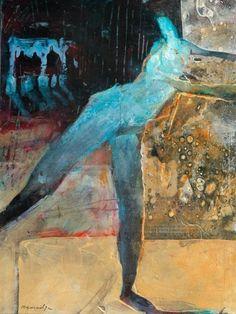 Robert Burridge - Audition Art And Illustration, Figure Painting, Figure Drawing, People Art, Figurative Art, Painting Techniques, Oeuvre D'art, Painting Inspiration, Altered Art