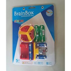 """Build the cool """"flying saucer"""" and its electronic launcher with this Brain Box Expansion Kit featuring additional pieces to add to your Brain Box collection. Brainbox manufacture a great range of electronic kits with a cool easy to use press-stud system f Friendship House, Friend Friendship, Science Supplies, Electronic Kits, Gift Card Balance, Lego Batman Movie, Buy Toys, Flying Saucer, Thomas And Friends"""