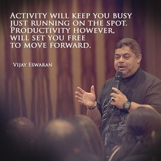 Don't be busy. Be productive.
