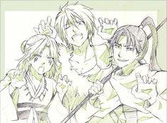 Yona of the dawn / Akatsuki no Yona anime and manga || four dragons