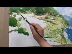 36 소나무가 있는 풍경 - YouTube