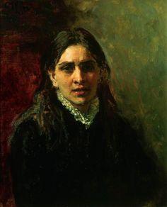 Ilia Repin Актриса П.А.Стрепетова. 1882