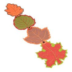 Cool product alert! Our Fall Leaves Table Runner is made up of four over sized leaves that can be attached with buttons! Or, unhook them and use them as individual place mats! #kirklands #harvest
