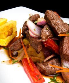 Lomo saltado, I use chicken instead of steak though