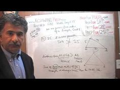 Revised GRE Math Day 275, p154, What is a Triangle?, Prep Tutor via Skyp...