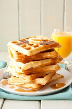buttermilk waffles by Cooking Classy - my new favorite waffle recipe!