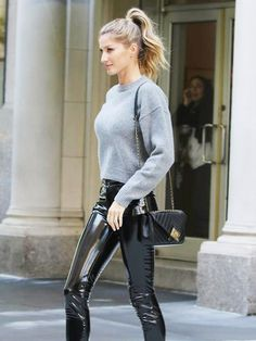 Okay, Gisele Bündchen Just Made Us Want a Pair of Leather Pants