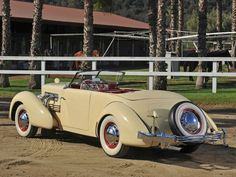 1937 Cord 812 S-C Phaeton...Re-pin brought to you by agents of #Carinsurance at #HouseofInsurance in Eugene, Oregon...Call for a Quote 541-345-4191