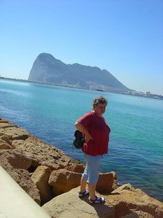 Felsen von Gibraltar.