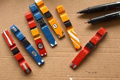 Kids' Corner: Upcycling cars from broken clothespins, Wood Badge, Bmw Autos, Kindergarten Readiness, Clothes Pegs, Diy Car, Kids Corner, Recycled Crafts, Kids Toys, Crafts For Kids