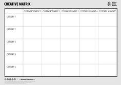 Design A Better Business | Toolbox | CREATIVE MATRIX