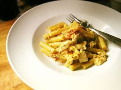 Gojee - Mushroom, Sundried Tomato, and Chicken in a Creamy Sauce by Herbie Likes Spaghetti