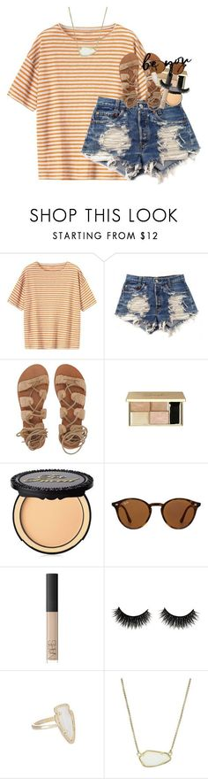 boys seem to like the girls who like to kiss and tell by classynsouthern ❤ liked on Polyvore featuring Toast, Levis, Billabong, Too Faced Cosmetics, Ray-Ban, NARS Cosmetics and Kendra Scott