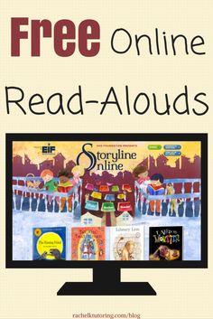 Free Online Read-Alouds   Rachel K Tutoring Blog