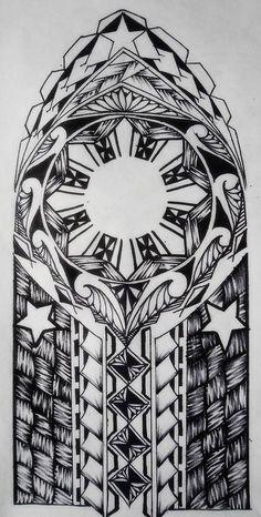 Filipino Tribal Sun