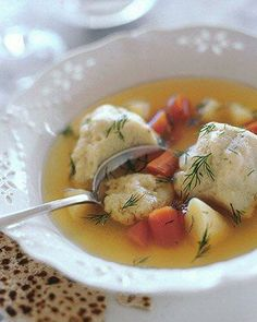 Passover Recipes // Matzo Ball Soup Recipe