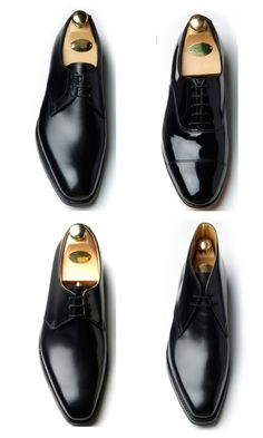 Crockett and Jones shoes made in Northampton, England, since 1879.