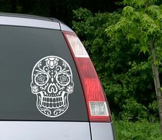 Hey, I found this really awesome Etsy listing at https://www.etsy.com/listing/217662734/sugar-skull-sticker-sugar-skull-decal