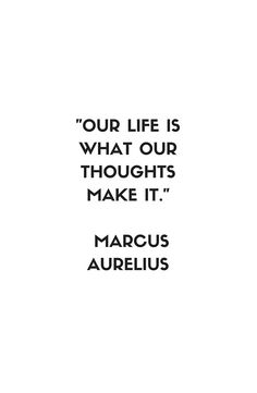 MARCUS AURELIUS Stoic Philosophy Quote