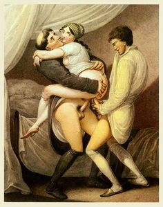 Theme interesting, vintage erotic art painting