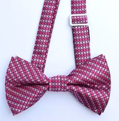 OCIA® Mens Woven Microfiber Pre-tied Bow Tie - ND032 at Amazon Men's Clothing store: