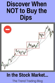 In this article, discover when NOT to buy the dips in the stock market...
