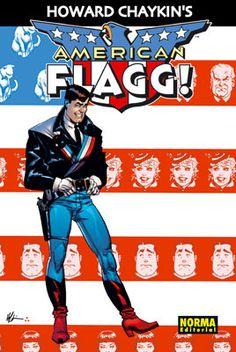 NORMA EDITORIAL: AMERICAN FLAGG!