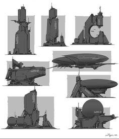 ArtStation - Some random sketches, zhang pengzhen