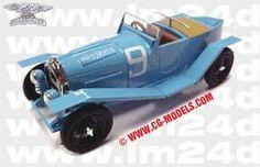 LE MANS 1924 - Chenard et Walker  #9 - Raoul Bachmann - Fernand Bachmann   - Modello SLM43