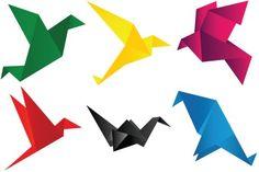 Origami Birds Iconset (7 icons)   jozef89