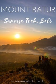 Climbing Mount Batur in Bali at sunrise was one of the toughest things I've ever done. It was also one of the most amazing and rewarding! Find out how I got on - and get some top tips if you're planning the hike yourself.