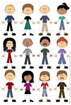 free stick people clip art faces stick figure people pets rh pinterest com  free clipart people speaking