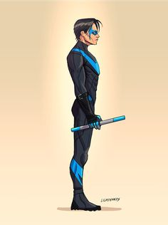 Nightwing by Johnny-Lighthands