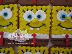 Spongebob, Cupcakes, Cookies, Sweet, Desserts, Food, Wooden Toy Kitchen, Jelly Beans, Sweet Recipes