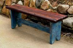rustic Barnwood Bench