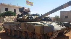 T-90 Tanks in Syria: Practice of Usage - http://www.therussophile.org/t-90-tanks-in-syria-practice-of-usage.html/