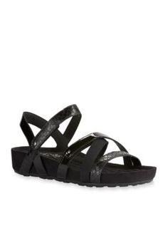Walking Cradles Black Pool Sandal