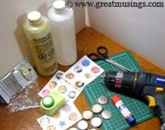 bottlecap pendant supplies