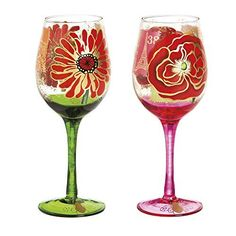 Cypress Home Jardin Botanique Wine Glass, Set of 2, 12 ounces, http://www.amazon.com/dp/B018T04UVM/ref=cm_sw_r_pi_s_awdm_VugFxbDBS8QM9