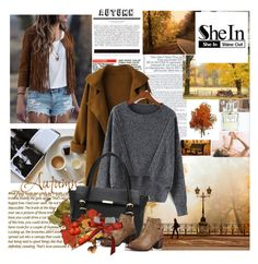 """""""SHEIN #10"""" by amelaa-16 ❤ liked on Polyvore featuring Mode und National Geographic Home"""