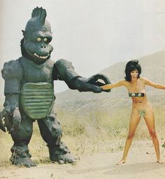 Retrogasm — Monsters get all the chicks…