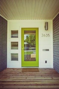On Trend: Colorful Doors