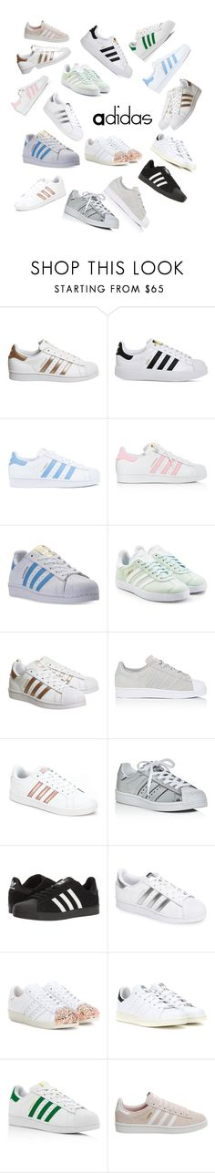"""""""Adidas"""" by ruby-rubird ❤ liked on Polyvore featuring adidas and adidas Originals"""