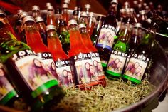 Souvenir Idea: Custom labels for store-bought Italian sodas. Add your pic on it! Email kreativekits@gmail.com for more info :)