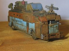 Post Apoc Battle Bus - 28mm wargaming