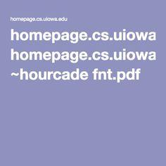 homepage.cs.uiowa.edu ~hourcade fnt.pdf