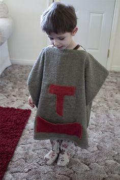 Toot Toot Tuesday-Towel Poncho
