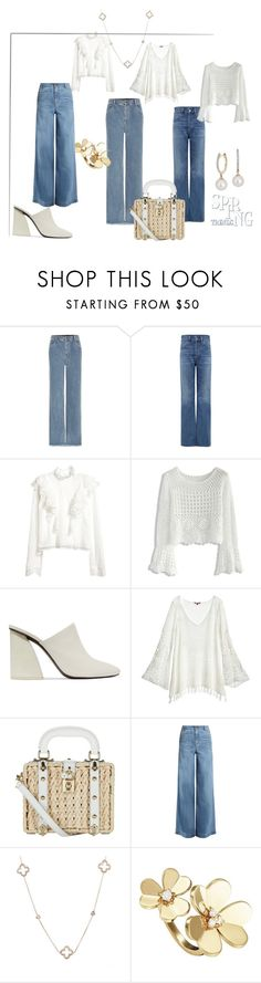 """""""Spring Trend"""" by dior-poison ❤ liked on Polyvore featuring Chloé, Citizens of Humanity, H&M, Chicwish, Mercedes Castillo, Calypso St. Barth, Dolce&Gabbana, RED Valentino, Van Cleef & Arpels and Blue Nile"""